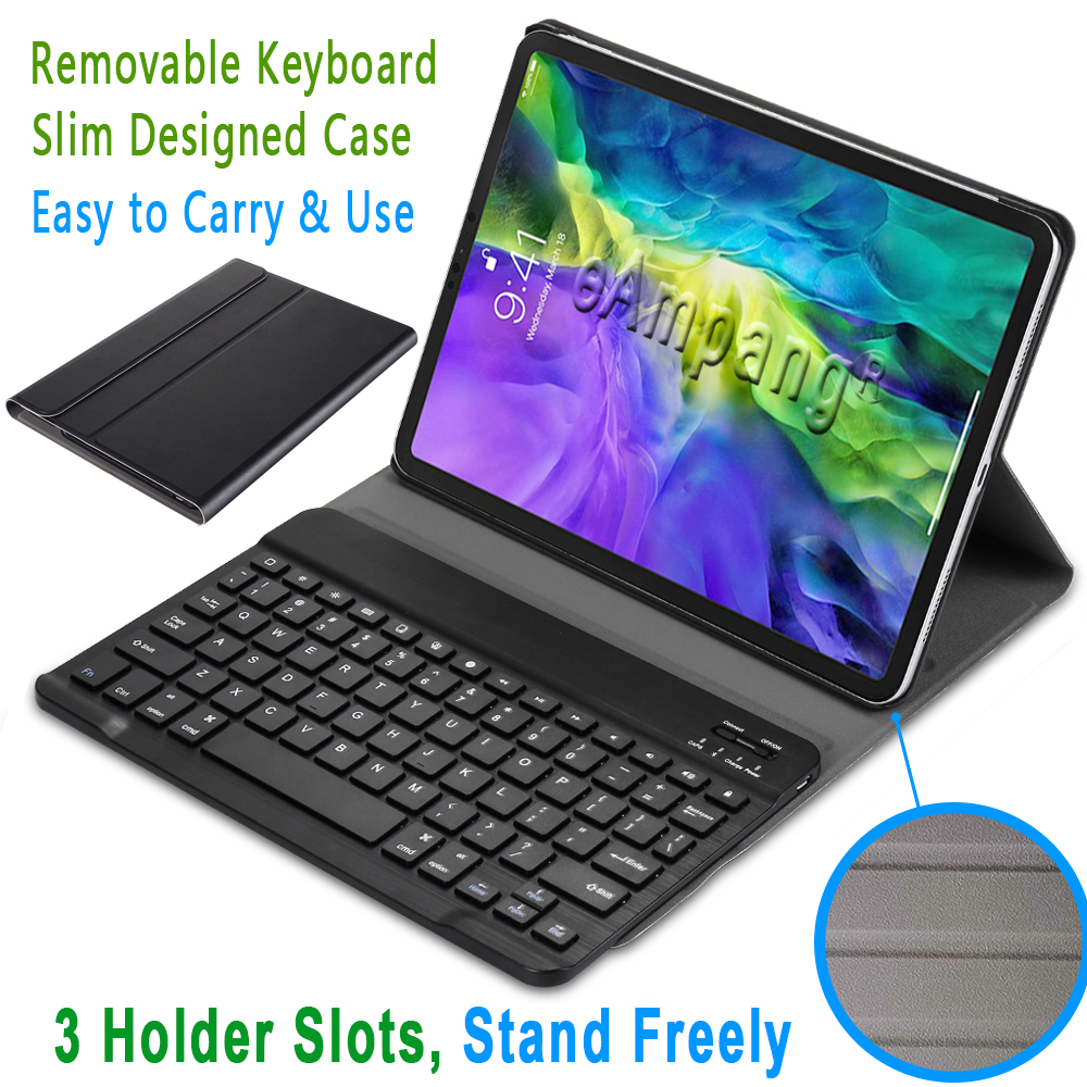 11 Case iPad 11 Generation Apple iPad Keyboard 2020 For Pro English Pro 2nd for Cover