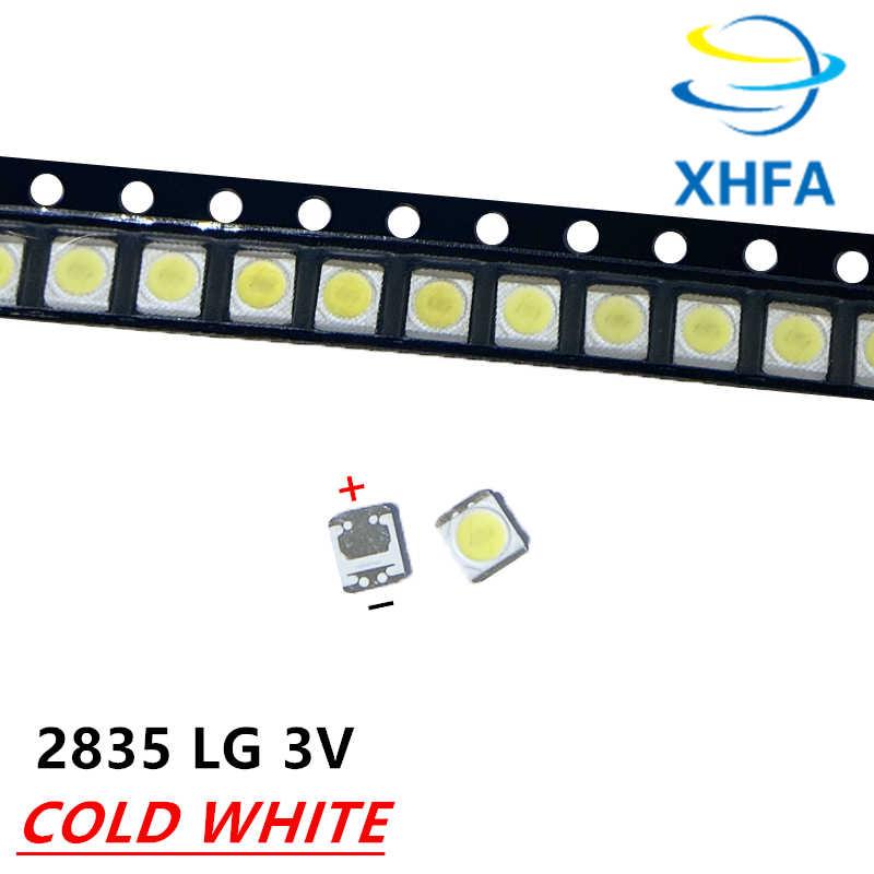 120 Buah Asli dan Baru untuk LG LED 3528 2835 1210 Lampu Latar LED 1W 3V 110LM Keren Putih untuk TV LCD LED Lampu Latar Aplikasi