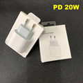 10pcs/20W OEM Fast Charging PD Charger A2305 A1692 9V 2.22A For 11 12 Pro Max Genuine USB Type C Port EU US Travel Power Adapter