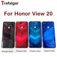 עבור Huawei Honor צפה 20 סוללה כיסוי V20 חזרה זכוכית פנל אחורי דלת שיכון מקרה לכבוד צפה 20 סוללה כיסוי PCT L29