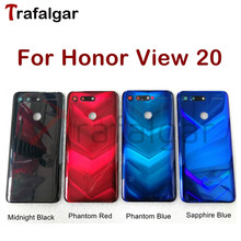 Huawei Honor View 20 배터리 커버 V20 백 유리 패널 뒷문 하우징 케이스 명예의 전당 20 배터리 커버 PCT L29