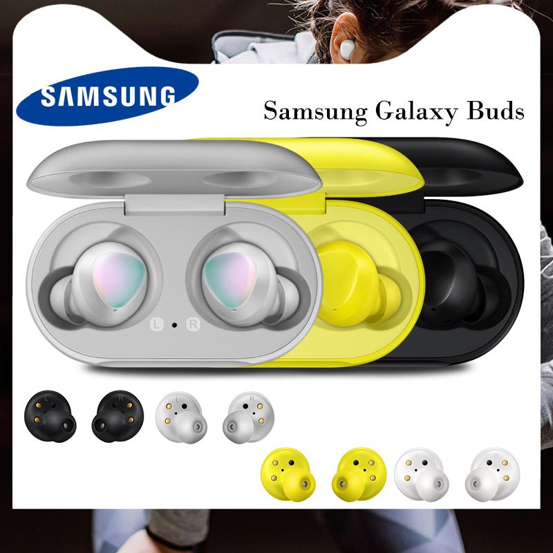100% Original Samsung Galaxy Buds Wireless In-Ear Headset SM-R170NZWAXAR Sport Earphone For Galaxy S20 Ultra S10 S9 Note 10 P40