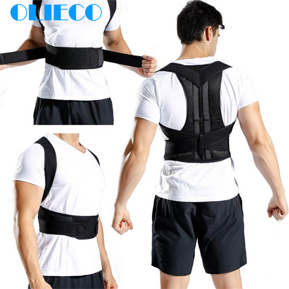 Back Posture Corrector Adjustable Spine Shoulder Lumbar Corset Orthopedic Brace Support Belt Prevent Clavicle Pain Slouching Hot