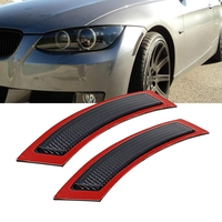 2Pcs for BMW E92 E93 3 Series 2DR 328 2007 2013 Front Side Marke Cover Fender Bumper Reflector (Smoke Lens)|Reflective Strips| |  -