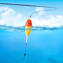 Автоматический поплавок для рыбалки светящийся приманка морской