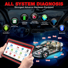 LAUNCH X431 PRO3S+ HDIII 12V Car/24V Truck full system diagnostic tools auto obd obd2 code reader scanner pk X431 V PRO MK808