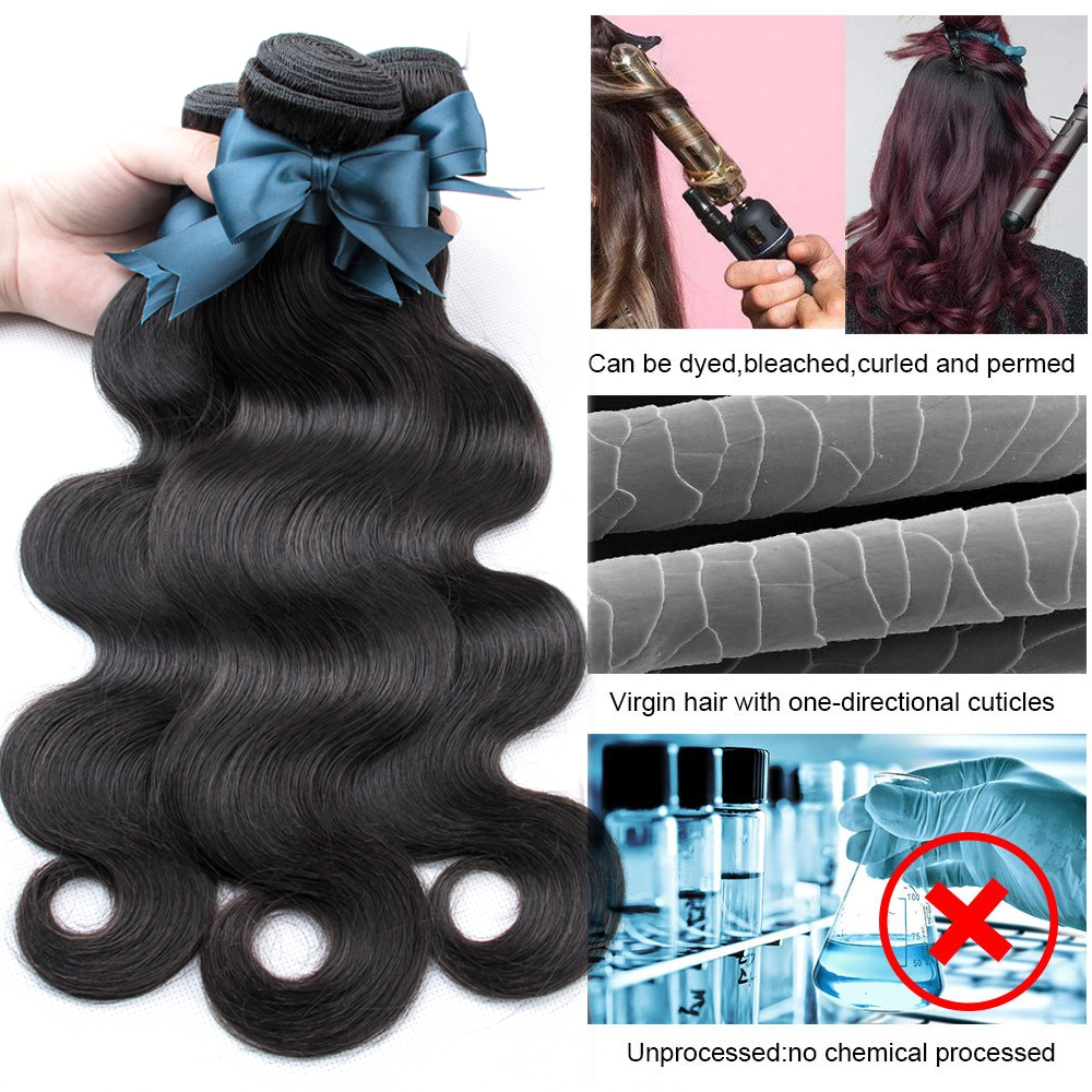 Beaudiva Body Wave Bundles With Closure   Bundles With Closure  Bundles With Closure Hair  4