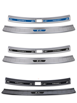 for Volkswagen 17 to19 Tiguan l special welcome pedal threshold strip rear guard retrofit parts