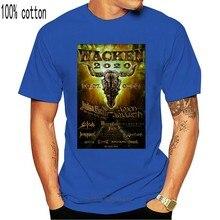 2020 wacken judas priest, wacken festival de música 2020 preto unissex t camisa de manga curta camisa