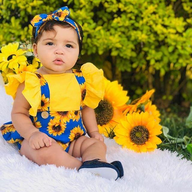 Baby Flower Romper