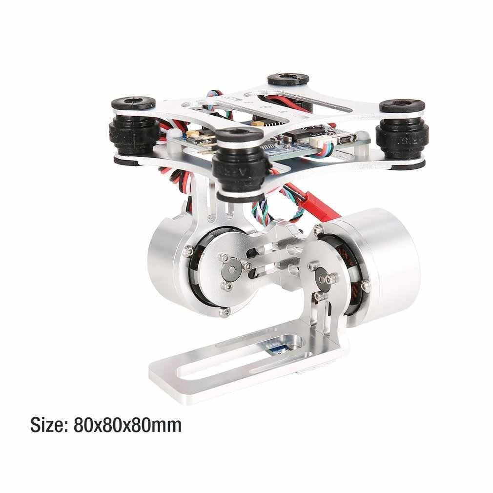 HAKRC 2-Axis CNC Metal Brushless BGC2.2 PTZ Control Panel Gimbal Stabilizer for RC Drone Camera Gopro3 DJI Phantom