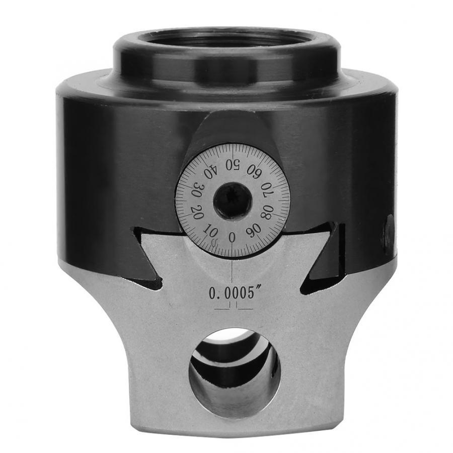 British 3/4'' F1 Boring Head 0.005 Manganese Steel Milling Boring Head for Multiple Purpose  High Accuracy