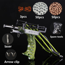 New Elastic Hunting Fishing Slingshot Shooting Catapult Bow Arrow Rest Bow Laser Sling Shot Catapult Crossbow Bolt Shooting Fish недорого