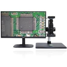 كامل HD 38MP 1080P 2K 60FPS مجهر الفيديو الإلكتروني HDMI USB كامل التركيز المكبر البصري لإصلاح رقاقة اللوحة الأم الهاتف