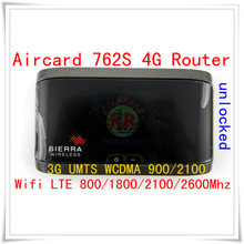 Sbloccato utilizzato Sierra AirCard 762S 4G LTE WIFI pocket Mobile Hotpots router 4g Wireless mifi dongle mini 3g 4g wifi router(China)