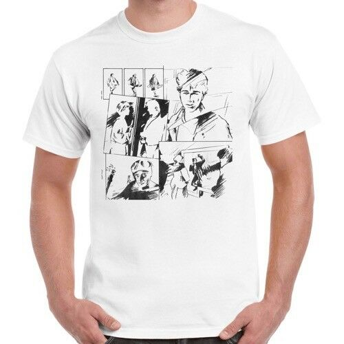 A-ha Classic 80s Music Video Take On Me Retro T Shirt 213 image