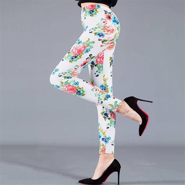 Summer Floral Leggings 4