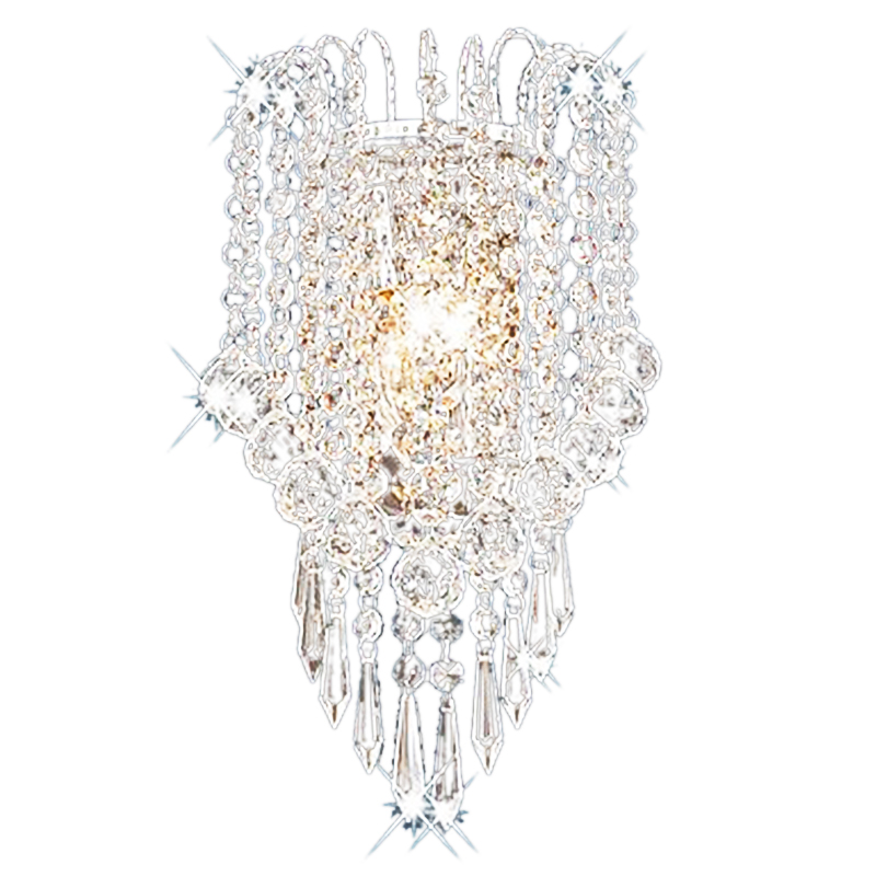 Artistic Metal Modern Led Crystal Wall Light Home Lighting Wall Light|LED Indoor Wall Lamps| |  - title=