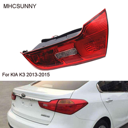 Tail Light rear light For KIA K3 2013-2015 rear headlight headlamp Inner Rear Brake taillight taillamp