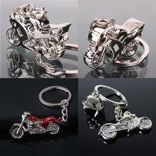Llavero con colgantes para motocicleta de montaña, llavero con colgantes de Metal en 3D para coche