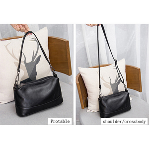 Image 5 - Genuine Leather Shoulder Bag Womens Crossbody Bags for Women Luxury Handbags Fashion Female Purse Totes Messenger Bag