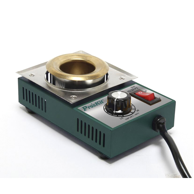 Electric Soldering Irons Pot Soldering Tool Plating Station Welding Repair Tool Temperature Adjust Molten Tin Crucible Furnace