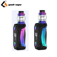 New Original GeekVape Aegis Solo Kit 100W Box Mod with Cerberus Subohm Tank Fit Super Mesh X2 Coil Electronic Cigarette Vape Kit(China)