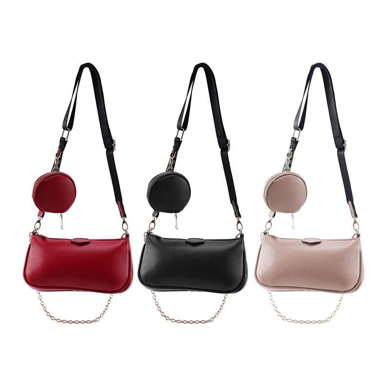 Petits sacs à bandoulière pour femmes sacs à main Zippy dorés polyvalents avec porte-monnaie comprenant un sac de 3 tailles