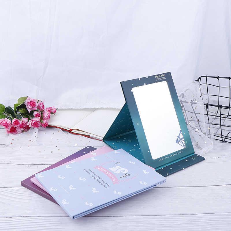 1 PC Lipat Cermin Makeup Cermin Desktop Cermin Portable 21*15 Cm