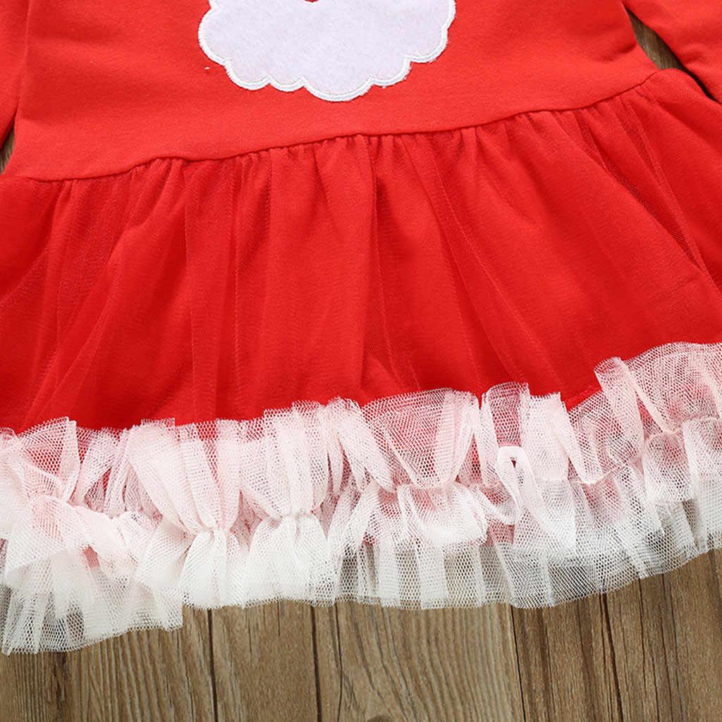 2019 outono de manga longa meninas vestido roupas da menina do bebê natal vestido floral casamento pageant vestidos formais roupas k30