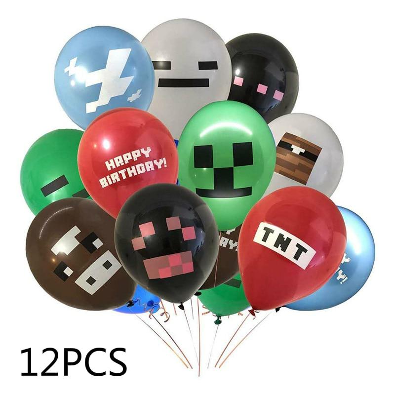 Big size  my world helicopter  aluminum balloon coolie  afraid of game cartoon balloon  birthday arrangement 3