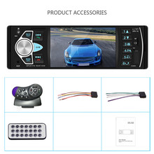 "Buy 4"" 4022D Car Radio Audio Stereo TF Card USB AUX  FM Bluetooth Radio Station MP3 Player With Rear View Camera Remote Control directly from merchant!"