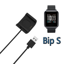 Smartwatch Dock Station Charger Adapter USB Charging Cable Base Cord Wire for Huami Amazfit Bip S Sport Smart Watch A1805 A1916(China)