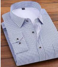 ZNG Warm Winter Men's Shirts With Fleece Thickened Shirts Men's New Striped Corduroy Top Middle-aged