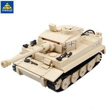 KAZI 995pcs Century Military Panzer King Tiger Tank Building