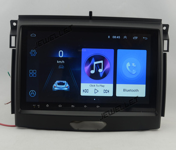 9 octa-core 1280*720 QLED screen Android 10 Car GPS radio Navigation for Ford Everest Ranger 2016-2018 image