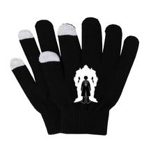 Anime Fullmetal Alchemist rękawiczki kobieta mężczyzna palec rękawiczki bawełniane ciepłe rękawiczki antypoślizgowe rękawiczki do ekranu dotykowego oddychać swobodnie rękawiczki tanie tanio Unisex COTTON Dla dorosłych Cartoon Nadgarstek Moda SHOUTAO