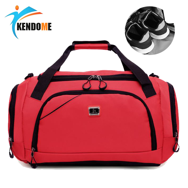 Hot Waterproof Sport Training Gym Bag Men Women Fitness Durable Multifunction Travel Yoga Handbag Outdoor Sporting Tote For Male