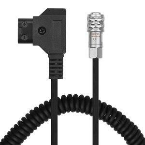 D-Tap для BMPCC 4K 2 Pin блокирующий кабель питания для Blackic Pocket Cinema Camera 4K для Sony V Mount Battery