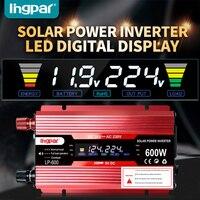 Lingpar 600W 600 Watt Portable Car Power Inverter Charger Converter Adapter DC 12V/24V to AC 110V/220V Modified Sine Wave NEW
