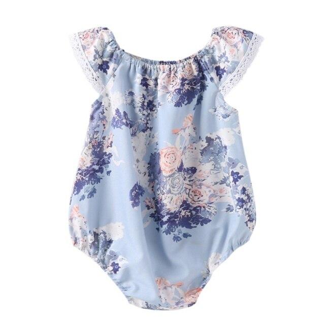 Комбинезоны летние без рукавов для новорожденных девочек одежда