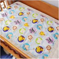 All cotton Baby's Three layer Waterproof Diaper Baby Care 0 3 Months Baby Changing Mat Pad For Newborns Baby Products