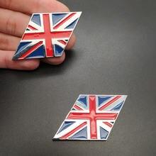 1 пара Национальный флаг Англии британский хит металлические