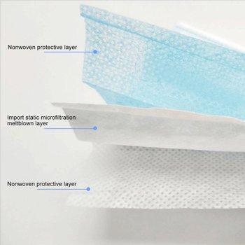 1/50pcs disposable mask  elastic soft breathable face mouth mask safe dustproof practical  portable mask windproof  face masks