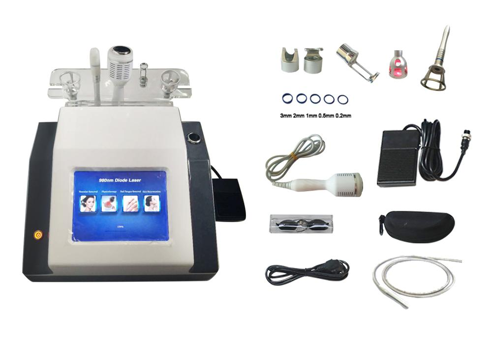 High Quaity 980nm Diode Spider Vein Treatment Machine 980nm Diode Laser Vascular Removal