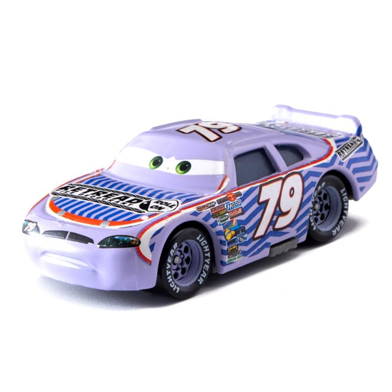 Cars Disney Pixar Cars  3 No.79 Racing Car Lightning McQueen Jackson Storm Cruz Mater  Diecast Metal Alloy Model Car Toy Gifts