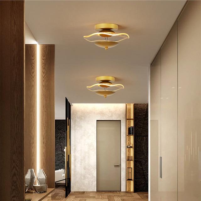 Современная Минималистичная атмосферная потолочная лампа в скандинавском