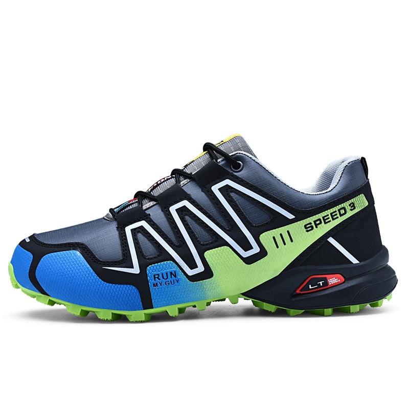 Black Men's Sneakers Outdoor Sports Hiking Mens Shoes Casual Summer Footwear Men Walking Shoes Autumn Women Shoes Plus Size