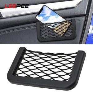 LEEPEE Car Seat Storage Bag Po