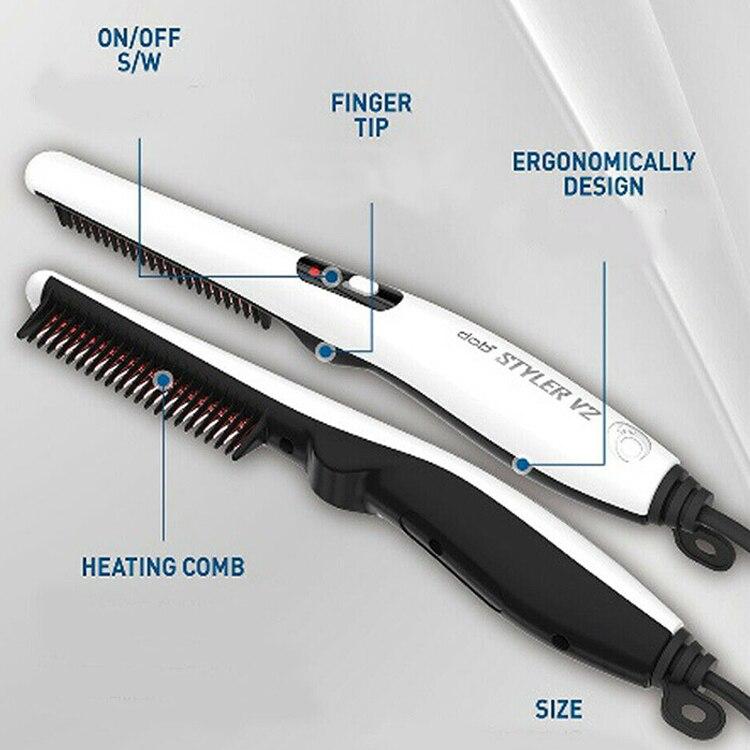 Quick Beard Straightener Hair Comb Multifunctional Hair  For Man Curler Show Cap Tool Electric Heating Hair Brush 4